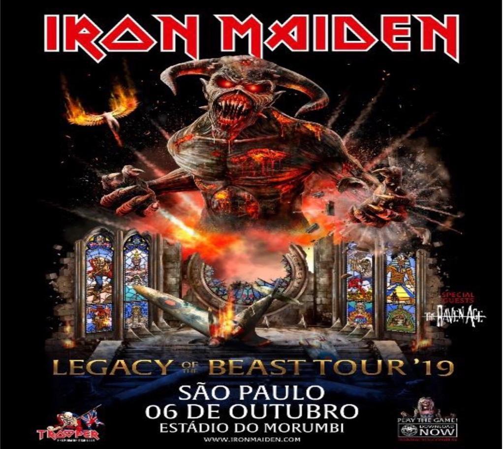 Iron Maden. Foto: Divulgação