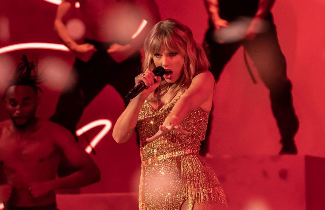 Taylor Swift. Foto: Reprodução/Instagram (@amas)