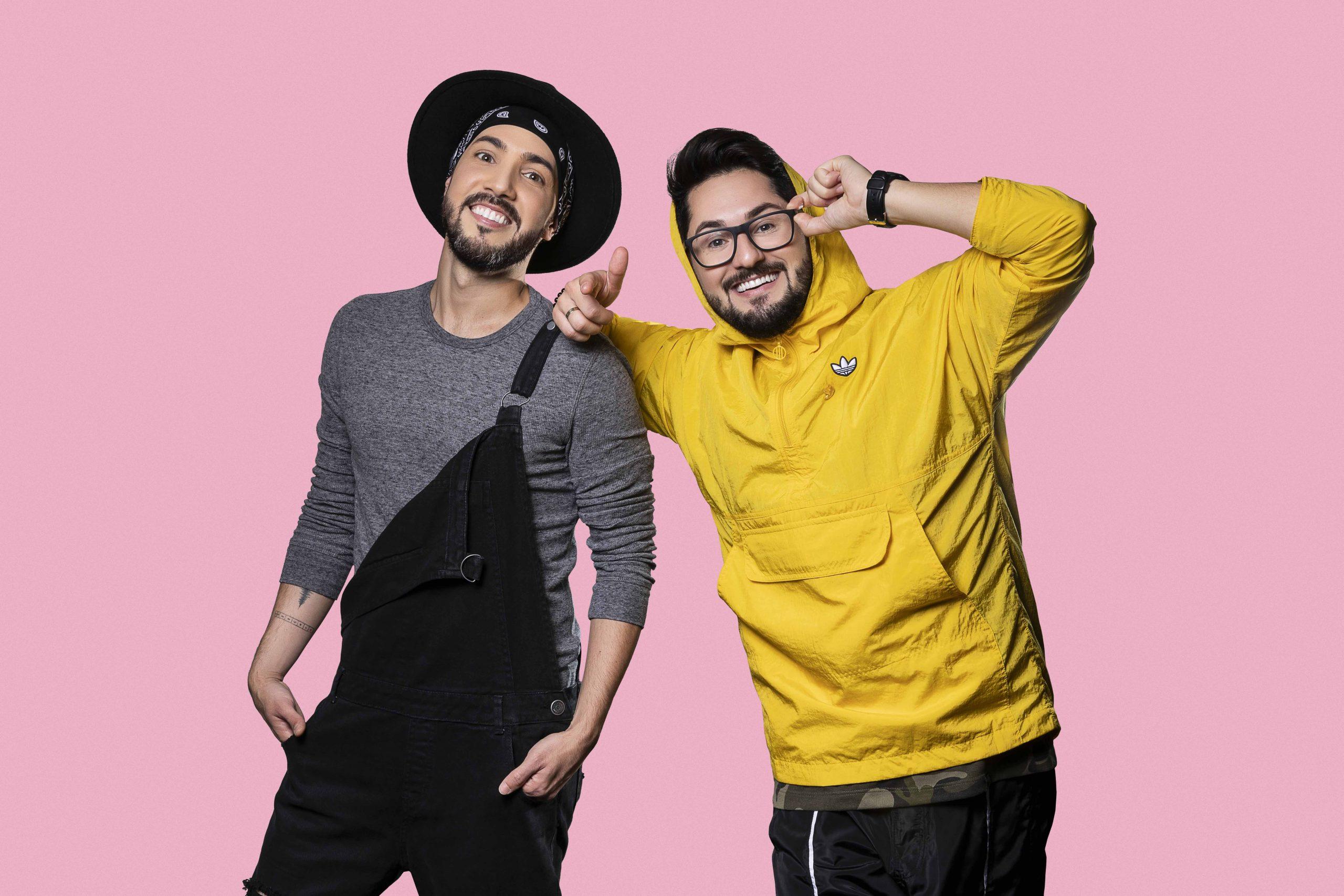 Sandro e Cícero. Foto: Divulgação