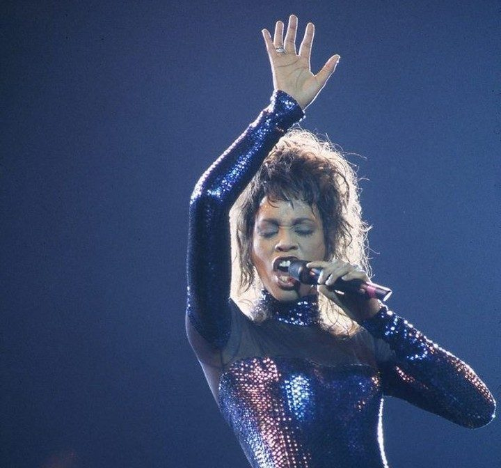 Whitney Houston Foto: Divulgação.