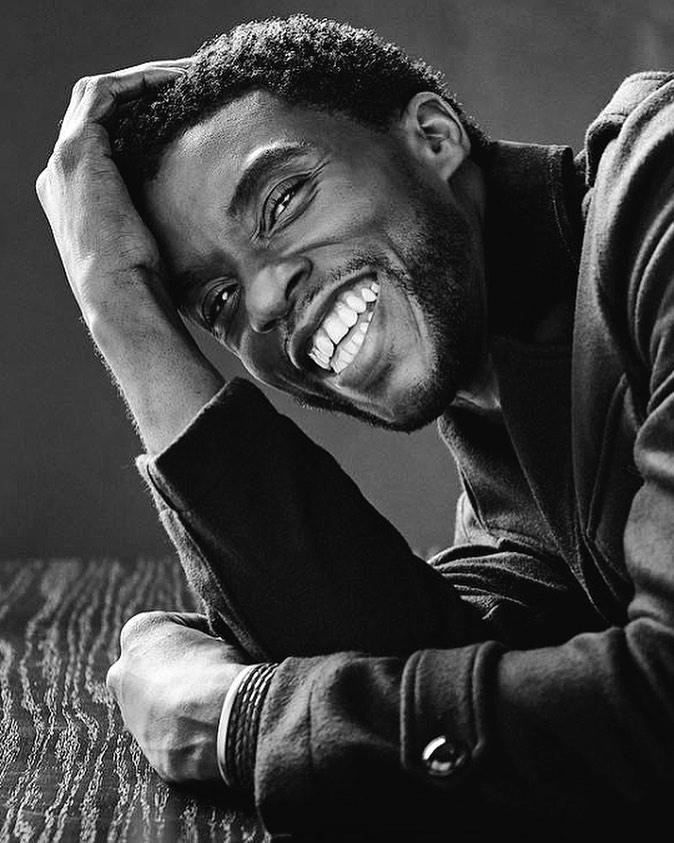 Chadwick Boseman. Foto: Reprodução / Instagram (@chasdwickboseman)