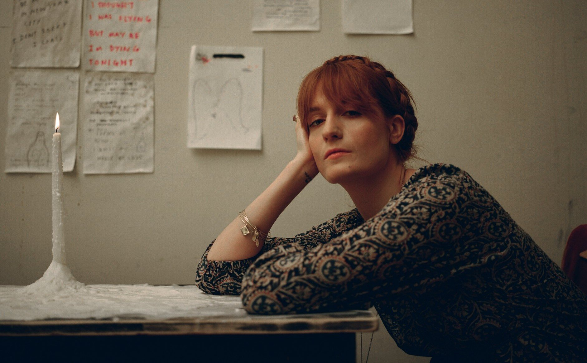 Florence Welch. Foto: Divulgação.