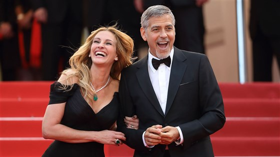 Julia Roberts and George Clooney in 2016.Mike Marsland/Getty Images. Foto: Reprodução