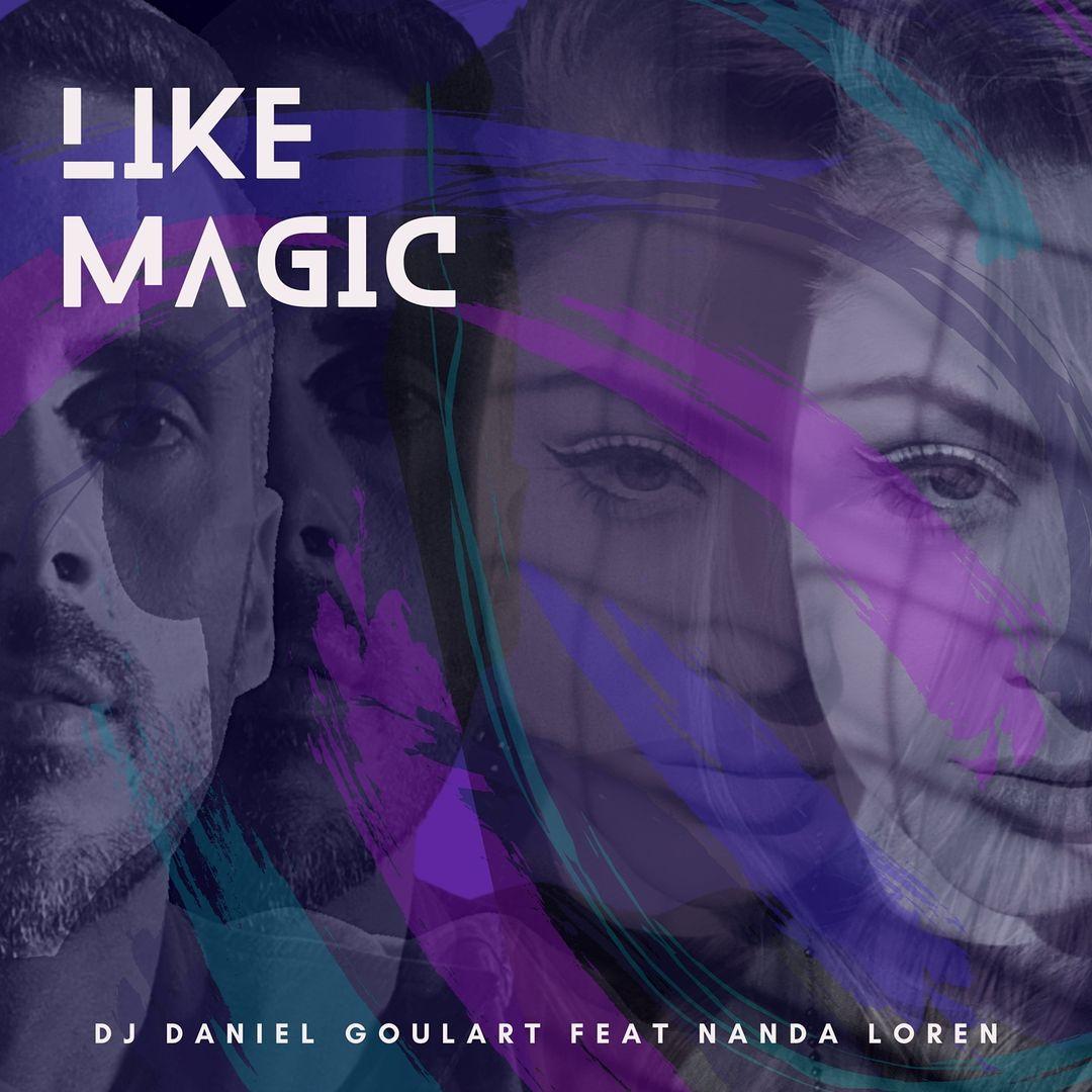 Nanda Loren e DJ Daniel Goulart. Foto: Divulgação