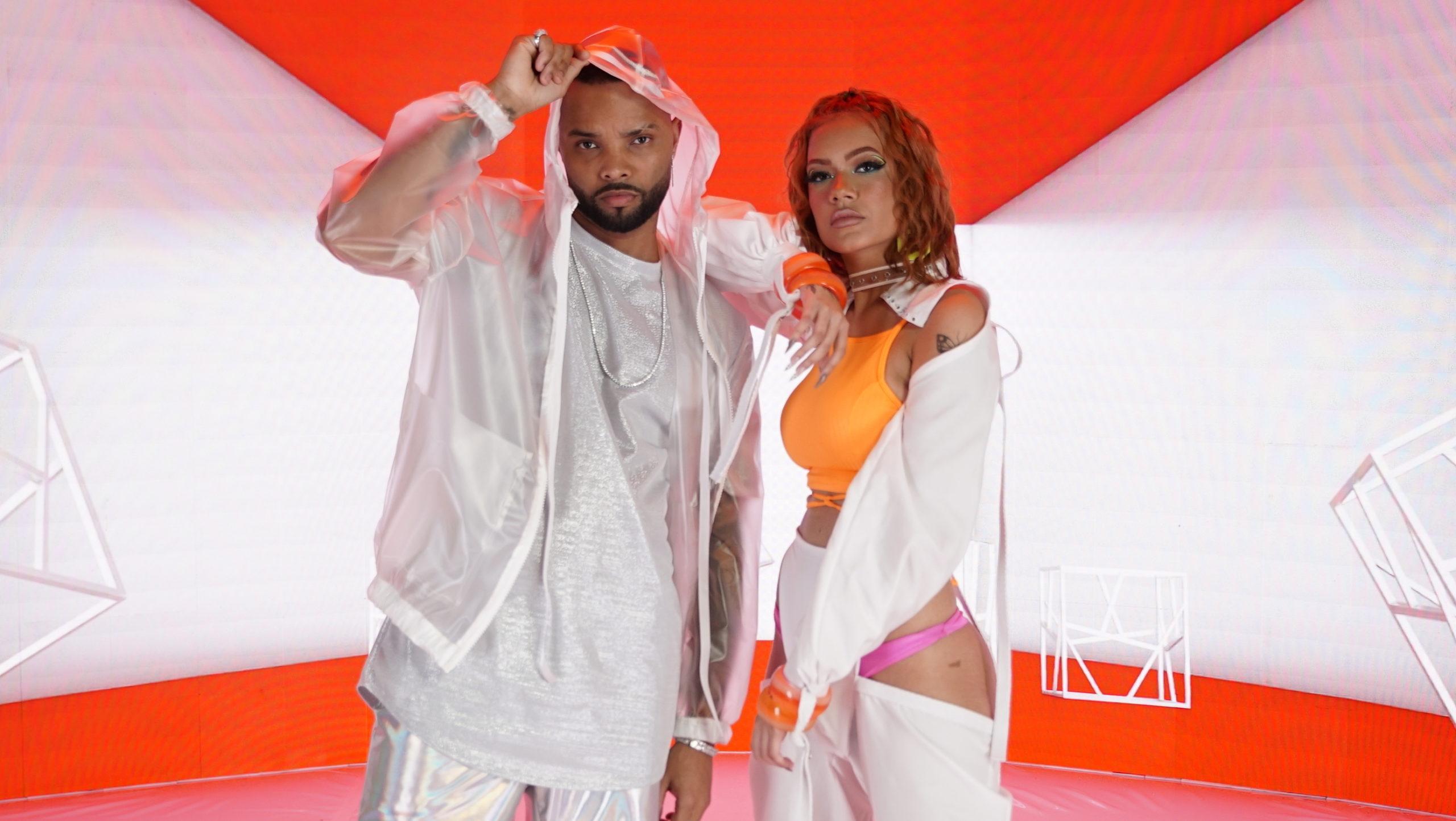 MC Zaac e Lara Silva. Foto: Divulgação / Diego Castanheira