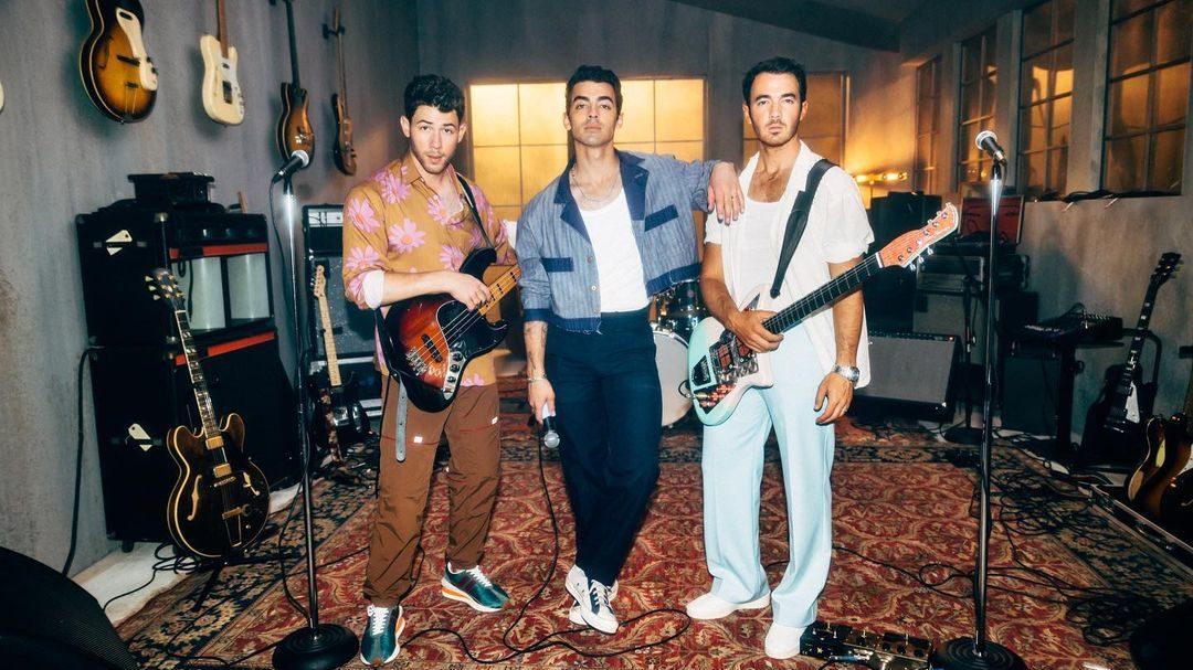 Jonas Brothers. Foto: Reprodução / Instagram (@jonasbrothers)